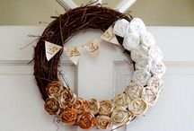 Wreaths  / by Cat