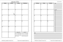 calendar print-outs