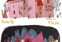 Children's book art styles / by Alyssa DeNovio