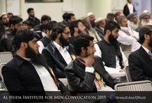 Al Huda For Men (AIM) Convocation 2015 / Students of Batch 1 & Batch 2 of  Taleem-al-Qur'an were awarded Diplomas on Al Huda Institute for Men 2015 Convocation.