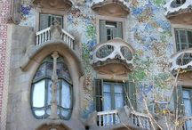 Gaudi / I fel in love with the work of Gaudi fist time i visited Barcelona / by Joyce von Rotz