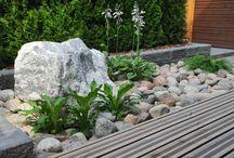 rivitalon piha ilman nurmikkoa