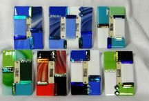 Fused Glass Switch Plates