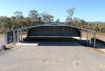 Our Commercial Complexes / Whether you require a commercial factory, storage complex or something else entirely, THE Shed Company can supply cost-effective commercial and industrial steel buildings to suit your desired application.