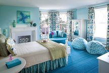 Cool Bedrooms / by Erin Hungler