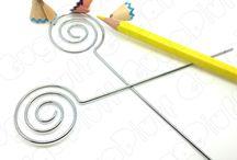 Basi per creare (Portamemo) / Preferisci i portamemo a cuore, a spirale oppure a pinzetta?
