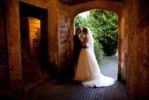 Thornbury Castle Weddings / If you dream of a fairy tale romantic wedding then you can't beat a castle!  Towers, suits of armour, an amazing sense of history and modern comforts like fabulous service and scrummy food.  Get some ideas for your day from these beautiful weddings.