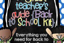 Back to school / by Tanya Nicholson