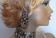 Beading: weave Lady