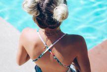Pool hairstyles