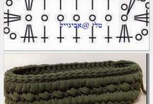 crochet pattern  pola