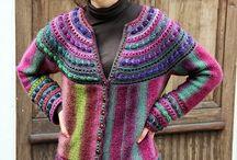 svetry - pletené