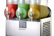 Machines of slushies / To keep all kinds of slushie machines for yourself to have
