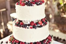 wedding cake - naked cake