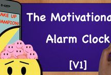 Motivational Alarm Clocks / Here's an #Alarm #Clock that can give you endless #motivation. Let this #AlarmClock be the foundation of your #success every #morning, and remind you what your goals in life are. It is the first step of seven and the foundation of the Infinite Loop System.