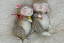 needle felting&felted