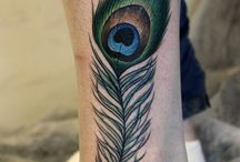 peacock feather tatoos