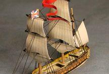 ships papercraft