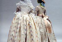 1780 Robe a la Polonaise