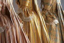 Robe historique 17ème à 18ème