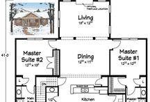 Ranch Floorplans