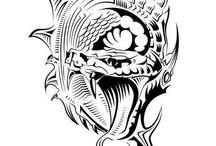 Tattoos - The way i like it / Tattoos i like and tattoos I wear by myself