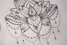 Tatuagem de lótus