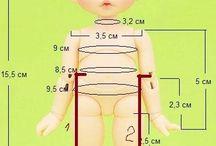 Куклы/размеры/мерки