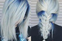Pretty Blue/Grey Hairs
