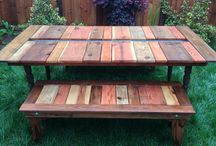 Outdoor furniture and projects