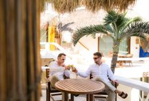 Barefoot Groomsmen / Ideas, thoughts and everything in between for Groomsmen attending a beach wedding.