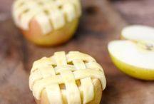 desserts aux pommes
