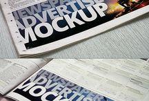 Newspaper Advertising / Newspaper Advertising, Newspaper Advertisement, Newspaper AD, 新聞広告