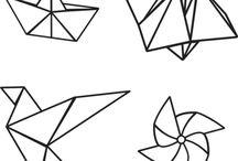 origami geometric