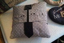 keepsake cushions / A selection of different types of keepsake cushions.