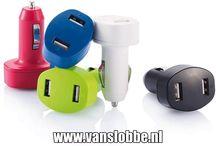 USB Auto Lader / USB autolader, adapter voor de in de auto. Overal moet je tegenwoordig je telefoon kunnen opladen. Handig auto usb adapters!