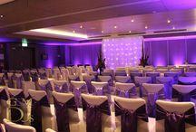 Wedding Lighting / Snapshots of recent lighting designs and displays