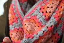 Crochet Granny Snood