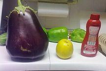 mi huerto / de huerta, verduras