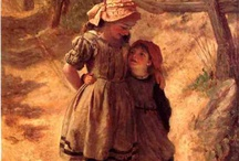 Frederick Morgan / English painter of portraits, animals, domestic and country scenes (1847/1856–1927)