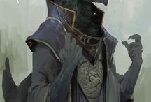 RPG Inspiration Draconic Folk