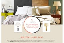 #ChoiceIsYours / Enter the #ChoiceisYours Pin-to-Win contest for a chance to win a newTEMPUR-Choice™Supreme Mattress from @TempurPedic plus a Personal Style consultation from Grace Bonney of @DesignSponge! Enter here: http://bit.ly/1ckkhch  [contest ends on 9/3/13] / by Tempur - Pedic