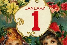 Happy new year / Ideas for new years cards, and decorations ......