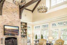 case elegante cu bârne din lemn