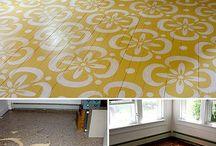 Painted floors / by Patti ºoº {TheClothspring.com}