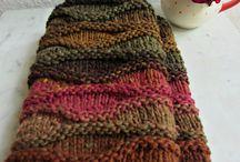 Вязание: шарфы, шали