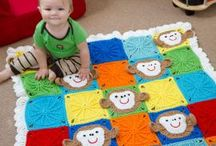 Character crochet baby Blankets / by Katy Wickens O'Brien