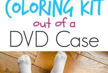 Upsycling - leere DVD Hüllen