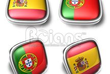 3D World Flag Icon / Boians PNG 3D World Flag Icon Series.
