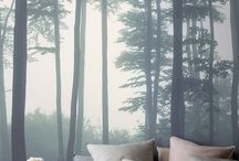 Bedrooms / Photo wallpaper